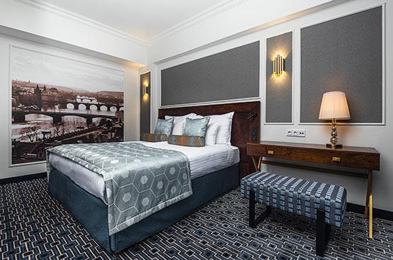 Superior room, Hotel International, Praha