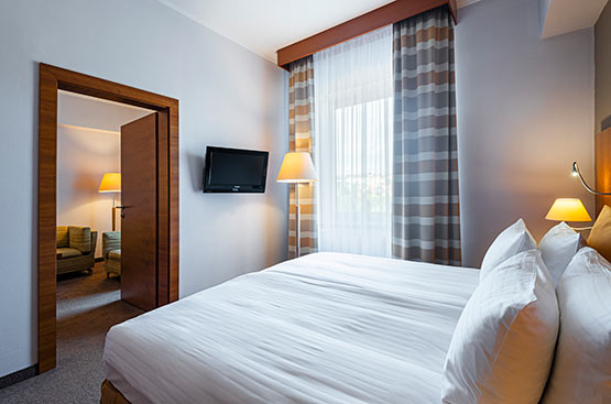 Suite tower, Hotel International, Praha